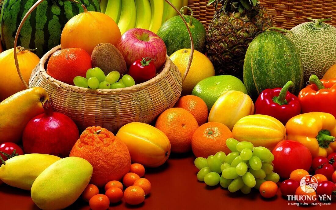 Các loại rau củ quả tươi rất tốt cho người sau phẫu thuật