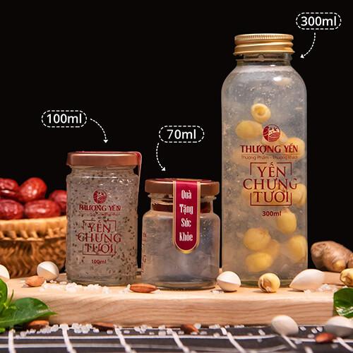 ThuongYen-ToYen-YenNuoc-VietNam-Combo-SanPham-Yến Chưng 3 Size-500