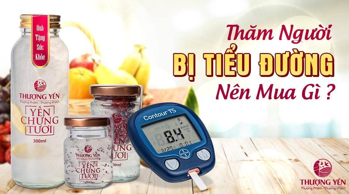 Thăm bệnh người bị tiểu đường nên mua gì và không nên mua gì?